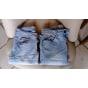 Jeans slim ETAM BERSHKA Bleu, bleu marine, bleu turquoise