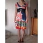 Robe courte SAVE THE QUEEN Multicouleur