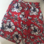 Swimming Bermuda Shorts TOMMY HILFIGER Red, burgundy