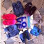 Baskets BENSIMON Bleu, bleu marine, bleu turquoise