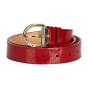 Ceinture large LOUIS VUITTON Red