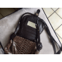 Leather Shoulder Bag JEROME DREYFUSS Brown