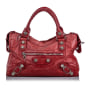 Sacoche BALENCIAGA City Red