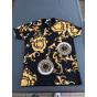 Tee-shirt MM STUDIO Doré, bronze, cuivre