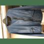 Blouson en cuir ONE STEP Bleu, bleu marine, bleu turquoise
