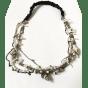 Bijoux de tête MAISON MICHEL Gris, anthracite