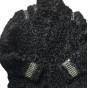 Manteau en fourrure AMERICAN RETRO Noir