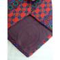 Cravate DIOR Rouge, bordeaux