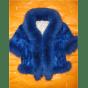 Blouson, veste en fourrure ARTISAN FOURREUR Bleu, bleu marine, bleu turquoise