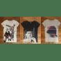 Top, tee-shirt LE TEMPS DES CERISES Gris, anthracite