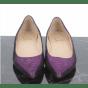 Ballerines CHRISTIAN LOUBOUTIN Violet, mauve, lavande