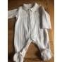 Pyjama NATALYS Blanc, blanc cassé, écru