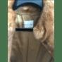 Manteau en fourrure CÉLINE Marron