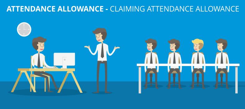 Attendance allowance - claiming Attendance Allowance