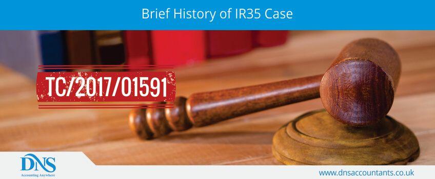Brief History of IR35 Case
