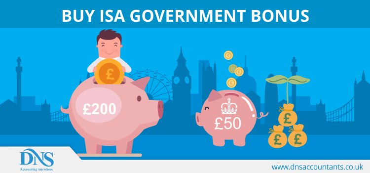 Buy ISA Government Bonus
