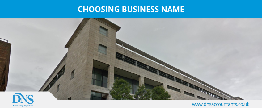 Choosing Business Name