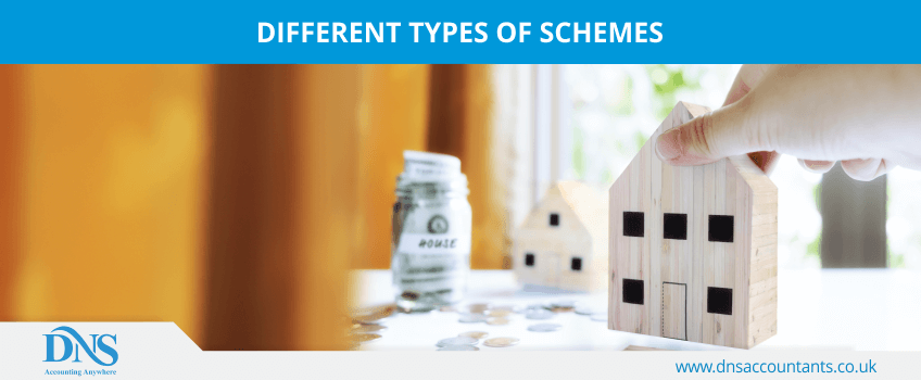Different types of schemes