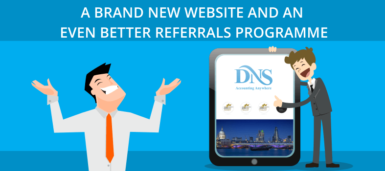 DNS Accountants New website for referrals programme