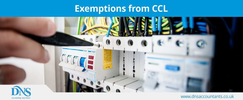 Exemptions from CCL