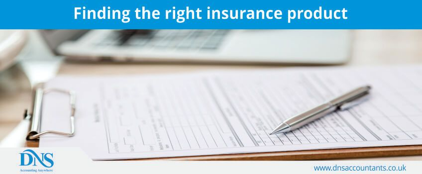 Finding the right insurance product