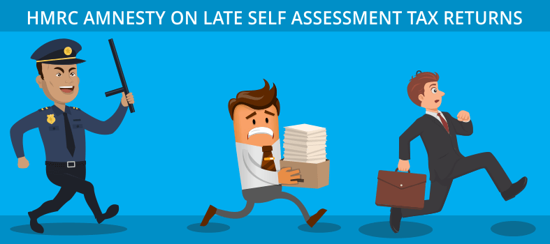 HMRC amnesty on late self assessment tax returns