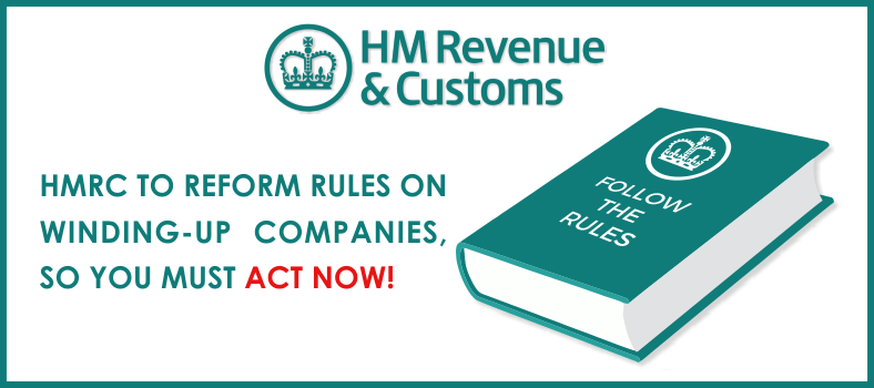 HMRC to reform rules on winding up companies