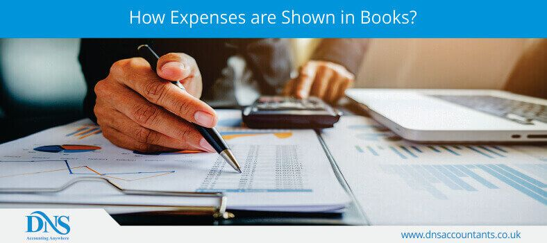 How Expenses are Shown in Books