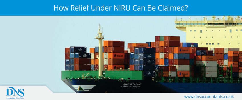 How Relief Under NIRU Can Be Claimed?