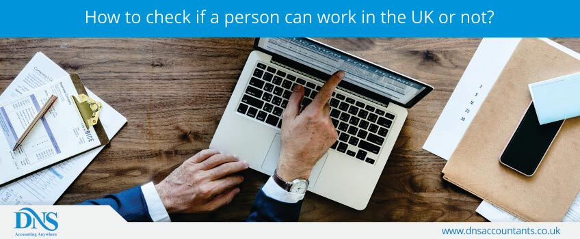 How to check if a person can work in the UK or not?