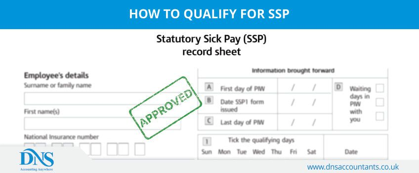 How to qualify for SSP