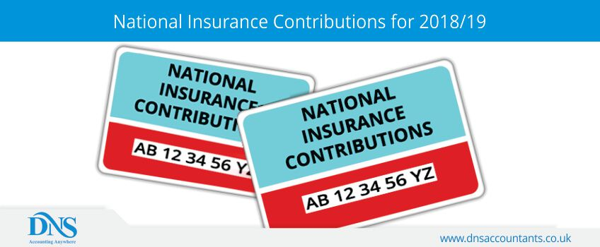 National Insurance Contributions for 2018/19