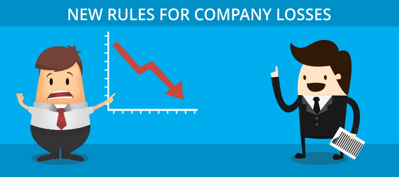 New rules for company losses