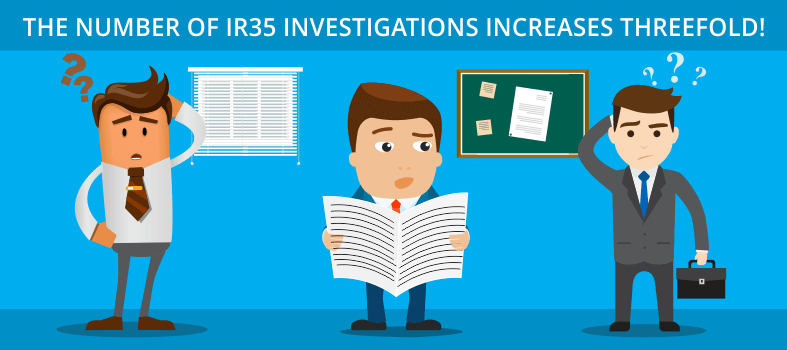Number of IR35 investigations