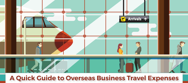 A quick guide to overseas business travel expenses
