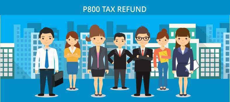 P800 Tax Refund