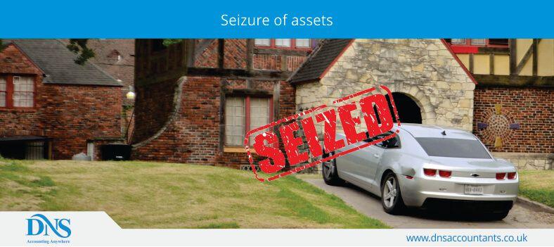 Seizure of assets