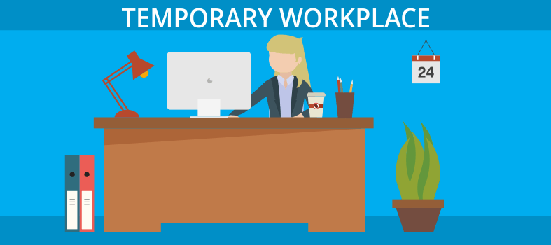 Temporary workplace