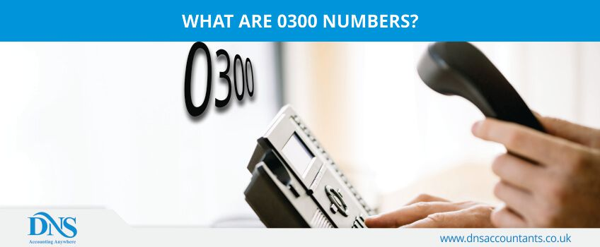 What are 0300 Numbers?