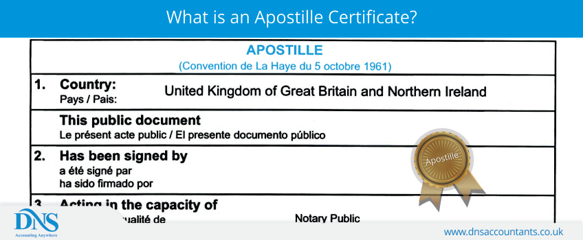What is an Apostille Certificate?