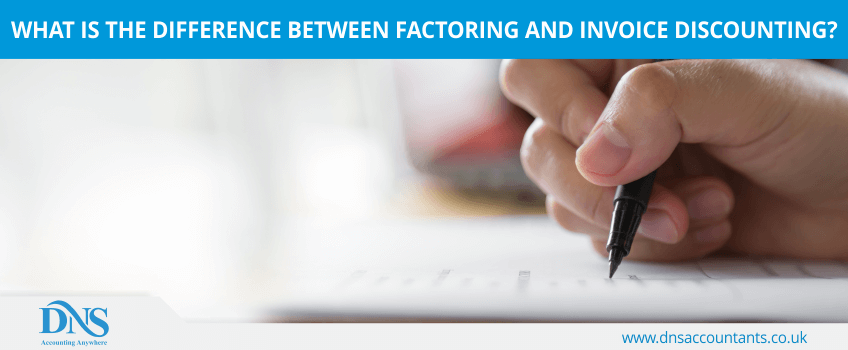 What is the Difference Between Factoring and Invoice Discounting?