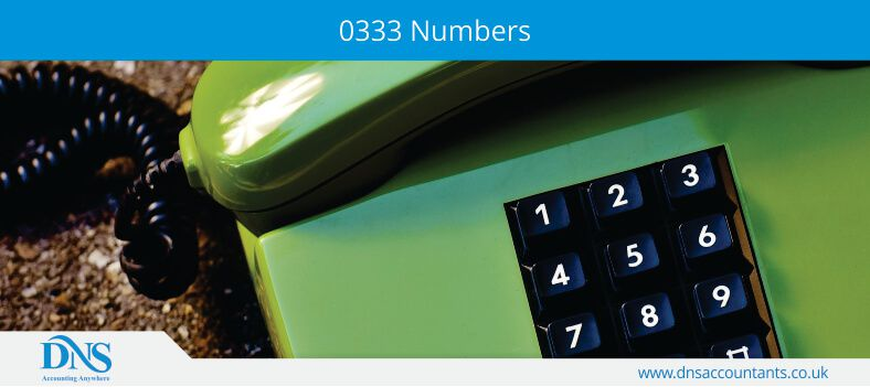 0333 Numbers