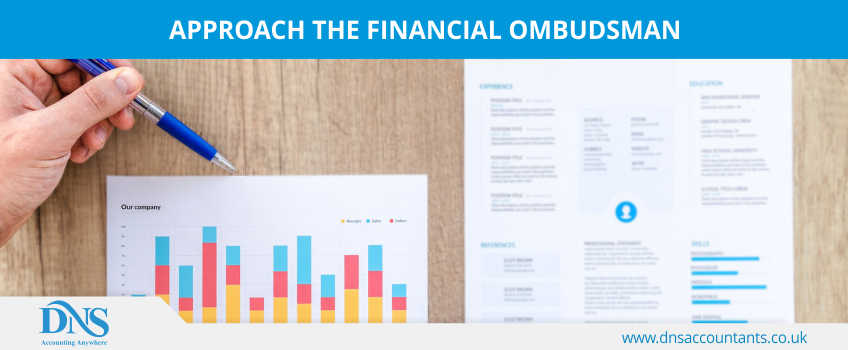 Approach the Financial Ombudsman