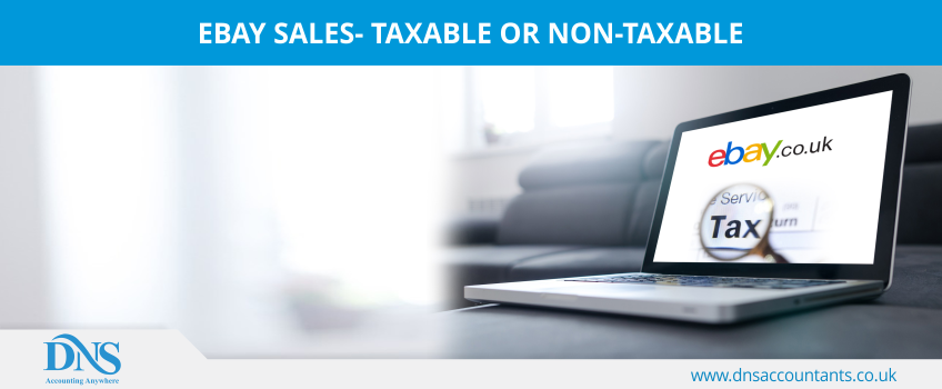 eBay Sales- Taxable or Non-Taxable
