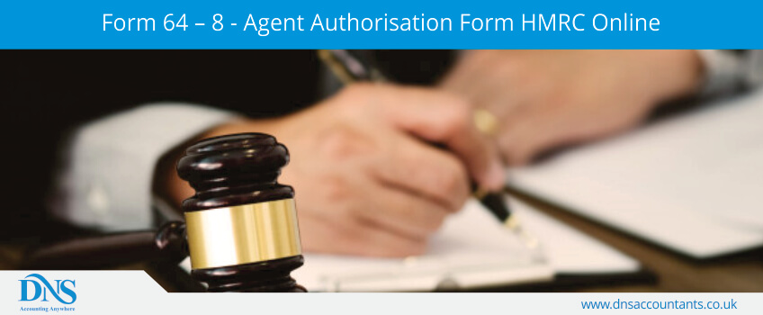 Form 64 – 8 - Agent Authorisation Form HMRC Online