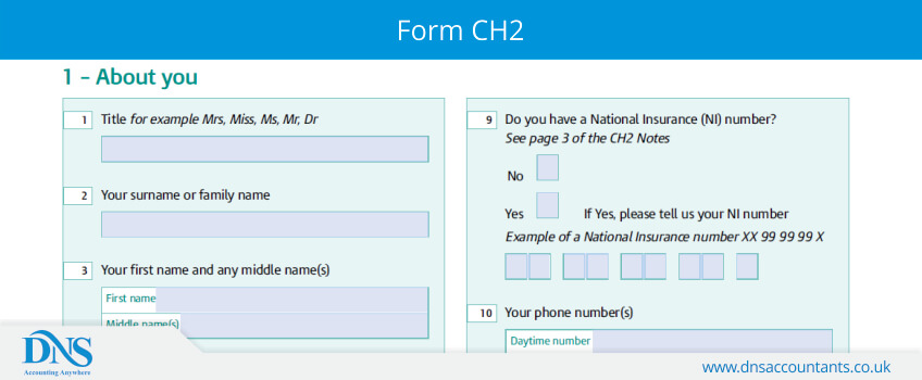 Form CH2