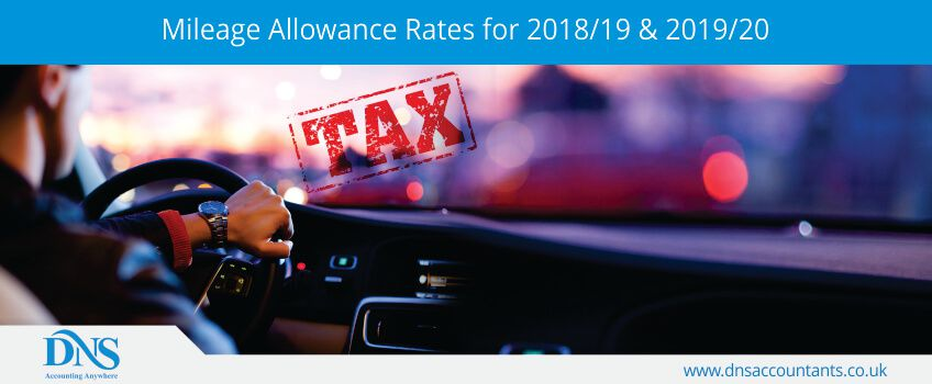 Mileage Allowance Rates for 2018/19 & 2019/20