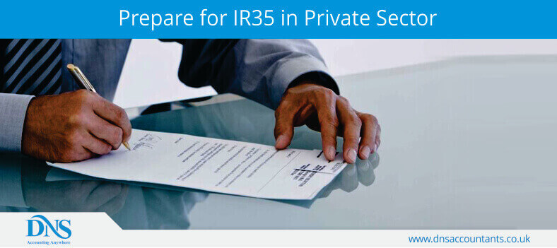Prepare for IR35 in Private Sector