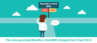 Changes may be over Change in BiK