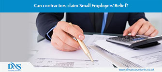 Can contractors claim Small Employers' Relief?